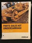 2007 Caterpillar Parts Sales Kit for Undercarriages 6th Edition PECP3003-05 2007