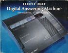 VINTAGE SHARPER IMAGE DIGITAL ANSWERING MACHINE NEW IN BOX *RARE*