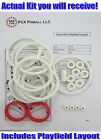 1976 Williams Grand Prix Pinball Machine Rubber Ring Kit