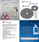 1989 Williams Black Knight 2000 Pinball Tune-up Kit - Includes Rubber Ring Kit