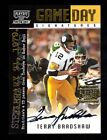 2000 Playoff Momentum Terry Bradshaw Autograph Card-Steelers vs.Cowboys 02 75
