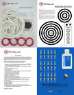 1973 Gottlieb Jumping Jack Pinball Tune-up Kit - Includes Rubber Ring Kit