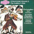 FREE US SHIP. on ANY 3+ CDs! NEW CD : Stravinsky / Ramuz: The Soldier's Tale