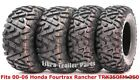 Set 4 ATV tires 24x8-12 & 24x9-11 00-06 Honda Fourtrax Rancher TRX350FM 350 4X4