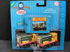 NEW THOMAS Take Along IRON ARRY & BERT Die Cast Metal Train Cars n Play Card NIP