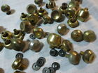 Mid Century LOT BRASS COLORED 1.25