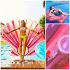 Swimming Pool Pond Lake Beach Float For Adults Inflatable Giant Shell Fun Raft