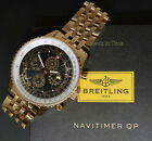 Breitling Navitimer QP 48 Perpetual Chronograph 18k Rose Gold Box/Papers R29380