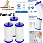 3PK Water Filter  Replacement Coconut Shell Carbon For Frigidaire Refrigerators