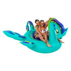 Giant 8ft Inflatable Nessie Sea Monster Pool Float Fun Party Toy For Kids Adults