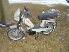 Vintage Avanti Moped peddle start Gold Only 515 Miles w Owners Manual 2 speed