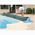 Protective Winter Cover For Swimming Pool Solar Blanket Reel Roller Up To 18 W
