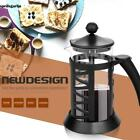 French Press Coffee Maker Leaf Tea Carafe Stainless Steel Filter 34 Oz 8 Cup USA