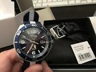 Seiko Kinetic Sports SKA745P2 Mens Watch With Blue And White NATO Strap