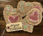 Primitive Sugar Cookie Bowl Fillers- 1/2 Dozen
