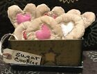 Primitive *Sugar Cookie* Bowl Fillers- W/ Box