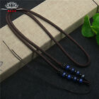 Natural Lapis lazuli Blue JADE beads Circle string cord rope for pendant A231