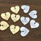 50 100pcs Personalized Mr  Mrs Mirror Love Wedding Favors Table Decorations