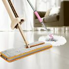 360 Degree Lazy Double-Side ABS Flat Mop Hand-Free Washable Mop Home Cleaning MT