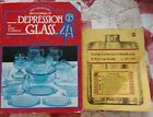 LOT OF TWO PRICE GUIDE BOOKS FOR COLLECTIBLES. DEPRESSION GLASS / BOTTLES
