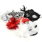 1*SEXY MASQUERADE BALL EYE MASK ON STICK -VENETIAN PARTY Shine CARNIVAL Paillett