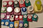 Lot of 25 Scrapbooking paper punches shapers Marvy Emagination McGill More
