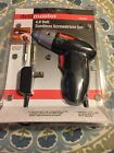 Drill Master 4.8 Volt Cordless Screwdriver Set Rechargeable with LED Light 61826