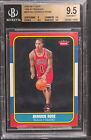 2008-09 Fleer 1986-87 rookies Derrick Rose bgs 9.5 rookie