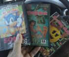 Ms. Pac-Man & The Jungle book & Sonic the Hedgehog, Cleaned and Tested