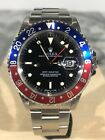 Rolex GMT-Master PEPSI 16700 Stainless Steel 40mm 1997 Blue/Red