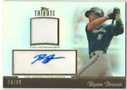 Ryan Braun 2011 Topps Tribute Relics Autographed Game Used Jersey 18 of 99