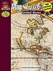 Map Skills United States Grades 7 8 9 by R Scott House Patti M House