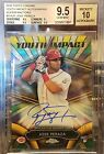 2016 Topps Chrome Jose Peraza Superfractor Youth Impact Auto 1 1 BGS 9.5 10