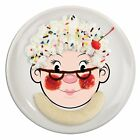 Fred MRS FOOD FACE Kids Ceramic Dinner Plate
