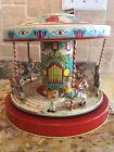 Vintage Chein  Company Tin Mechanical Wind Up Toy Playland Merry Go Round