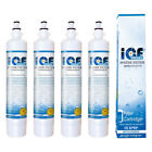 IceDaddy for GE RPWF (NOT RPWFE) RWF3600,RWF1063 Refrigerator Water Filter 4pack