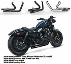 Slip On Pipes Muffler Exhaust Fit for Harley 2014 2018 Sportster 1200 XL1200 M1