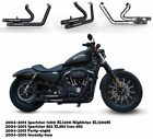 Fit for Harley 2004 2013 Sportster 1200 XL1200 Slip On Pipes Muffler Exhaust B2