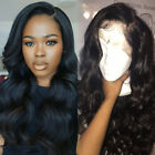 Malaysian Virgin Human Hair Lace Front Wig Full Lace Wig With Baby Hair Around
