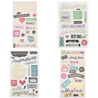 Love 3D Die Cut Self adhesive Stickers for Scrapbooking for Journaling Project