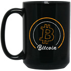 Bitcoin Black Coffee Mug - BTC