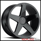 BLAQUE DIAMOND 20 BD15 GLOSS BLACK CONCAVE WHEEL RIM FITS NISSAN ROGUE MURANO