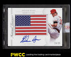 2015 National Treasures Made In The USA Nolan Ryan AUTO FLAG PATCH 25 (PWCC)