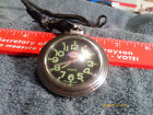 Dickies Men,s Pocket Watch And Leather Strap And New Battery