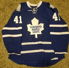 Game Worn Toronto Maple Leafs Nicholai Kulemin Photo Matched Jersey Team LOA