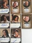 Warehouse 13 Premium Packs Season 4 Autograph Card Set 8 Cards