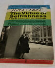 THE VIRTUE OF SELFISHNESS by Ayn Rand 1964 7th P Paperback Very Good
