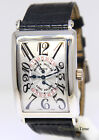 Franck Muller Long Island 18k White Gold Automatic Mens Watch +Box 1100 DS R