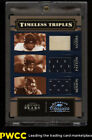 2006 Donruss Classics Timeless Triples Walter Payton Sayers PATCH 100 (PWCC)