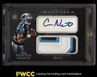 2011 Topps Inception Football Cam Newton ROOKIE RC AUTO 3-CLR PATCH 75 (PWCC)